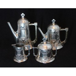 Antique WMF Four Piece Tea...