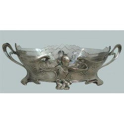 WMF Pewter & Glass Flower...