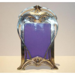 Silver plated WMF photograph frame. Stamped marks. Circa 1900