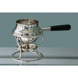 Hukin & Heath silver brandy warmer. Hallmarked London 1903