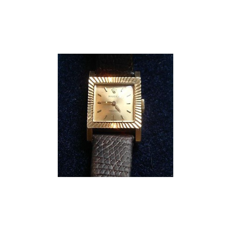 Rolex ladies gold wristwatch. Serial Number 1514225. Circa 1961