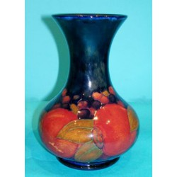 William Moorcroft Pomegranate Vase. Signed with green signature to base (c.1915)