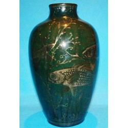 Pilkington Royal Lancastrian Lustrestre vase by Richard Joyce. (c.1916)