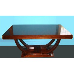 Art Deco French rosewood table. Circa 1925