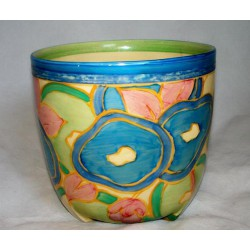 Clarice Cliff Fantasque Bizarre, Plant Pot. Circa 1930