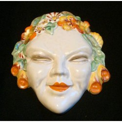 Clarice Cliff Wall Mask....