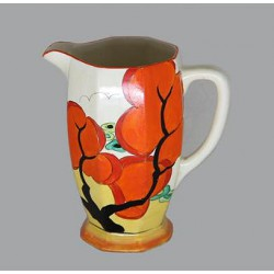 Clarice Cliff Erin pattern jug. Signed to base Bizarre Clarice Cliff. Circa 1934