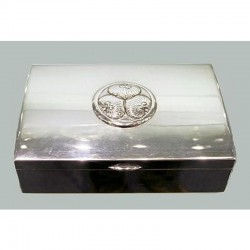 Arts & Crafts Silver Plated Box. Circa 1900