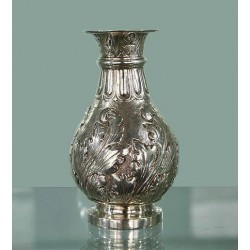 Lambert & Co (Herbert Charles Lambert) Arts and Crafts Silver Vase. Hallmarked London 1911
