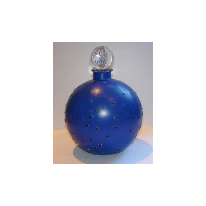 R Lalique Dans la Nuit Perfume Bottle for Coty. Impressed Signature to Base. (c.1930)