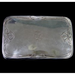 Wilkens Art Nouveau Silver Box German (c.1900)