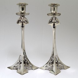 WMF Pair of Art Nouveau...