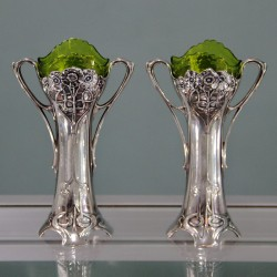 Pair of Antique Silver...