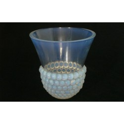 Rene Lalique Graines Opalescent Vase. Model No. 1042, Signed to Base. (c.1930)
