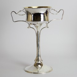 William Hutton Large Rare and Important Arts and Crafts Silver Cup (c.1902)