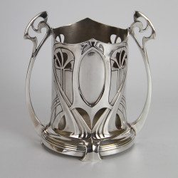 WMF Art Nouveau Silver Plated Syphon Stand (c.1900).