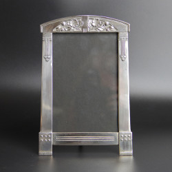 Antique Argentor (Vienna Austria) Art Nouveau Silver Plated Photo Frame (c.1900)