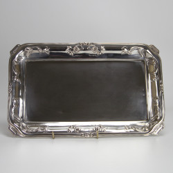 Antique Austro Hungarian Art Nouveau Silver Tray (c.1900)