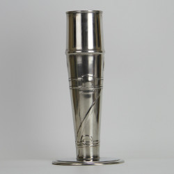 Archibald Knox for Liberty & Co Art Nouveau Pewter Vase (c.1903)