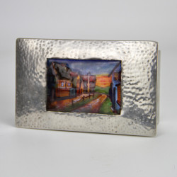 Liberty & Co Pewter and Enamel Box - Model Number 0125 (c.1903)