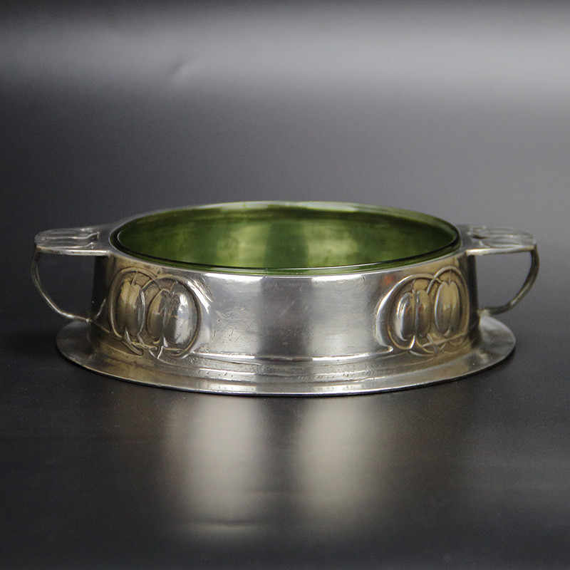 Archibald Knox for Liberty & Co Pewter Butter Dish (c.1903)