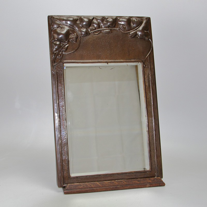 Arts and Crafts Copper Wall Mirror c.1900