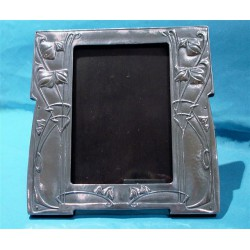 Archibald Knox for Liberty & Co pewter picture frame. (c.1903)