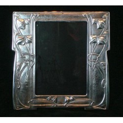 Genuine Archibald Knox for Liberty & Co antique pewter picture frame (c.1903)