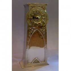 Liberty & Co pewter clock, Tudric 0291 (c.1903)