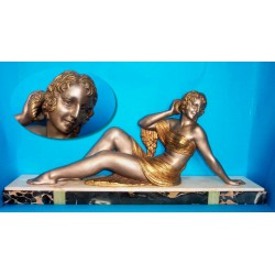 D. H. Chiparus Bathing Belle spelter figure. Signed to base. French (c.1920)