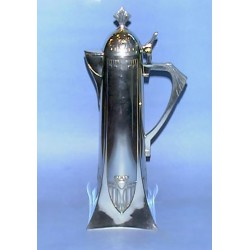 Antique WMF Claret Jug. Stamped marks (c.1905)