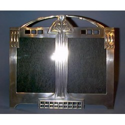 Antique WMF double photograph frame. Stamped marks (c.1905)