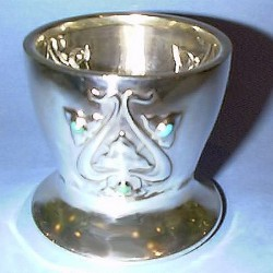 Silver Pot Archibald Knox for Liberty & Co (c.1903)