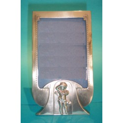 Genuine antique WMF photograph frame. Stamped marks, (c.1905)