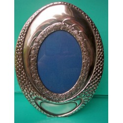 Antique WMF oval photograph frame. Stamped marks (c.1900)