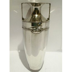 Kate Harris pewter vase by Connell. Stamped marks 01135. Circa 1900